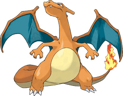 Figure 1: Our example image - a Charizard.