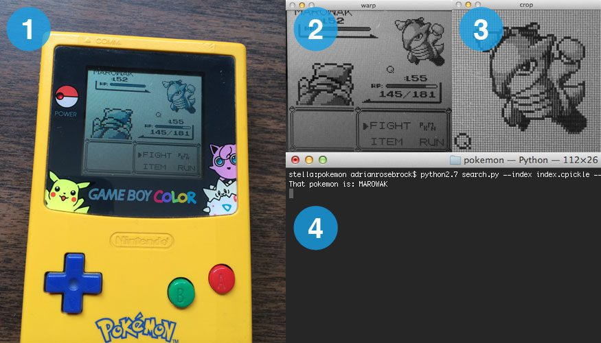 The four steps of building a Pokedex in Python