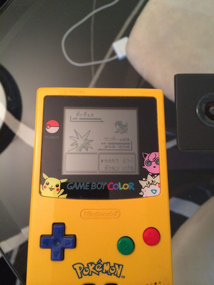 Figure 1: An example query image containing a Game Boy scree and Pokemon.