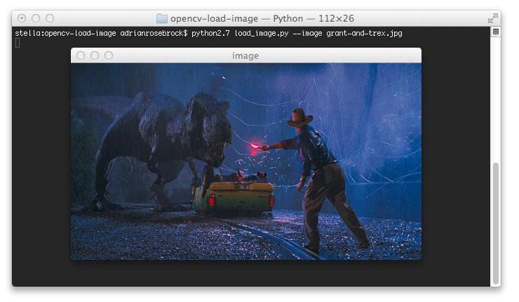 OpenCV Load Image