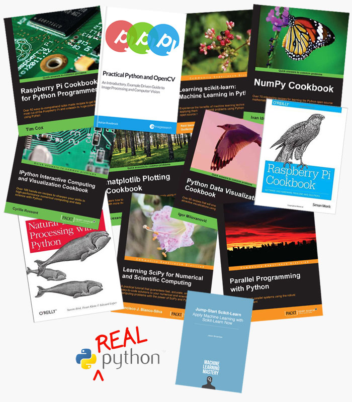 Win FREE copies of the 13 BEST Python books