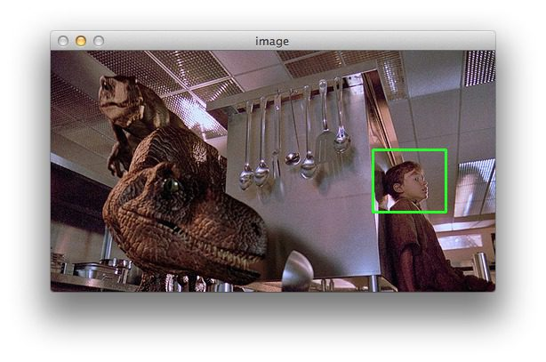 Figure 2: Clicking and dragging the region of the image we want to crop.