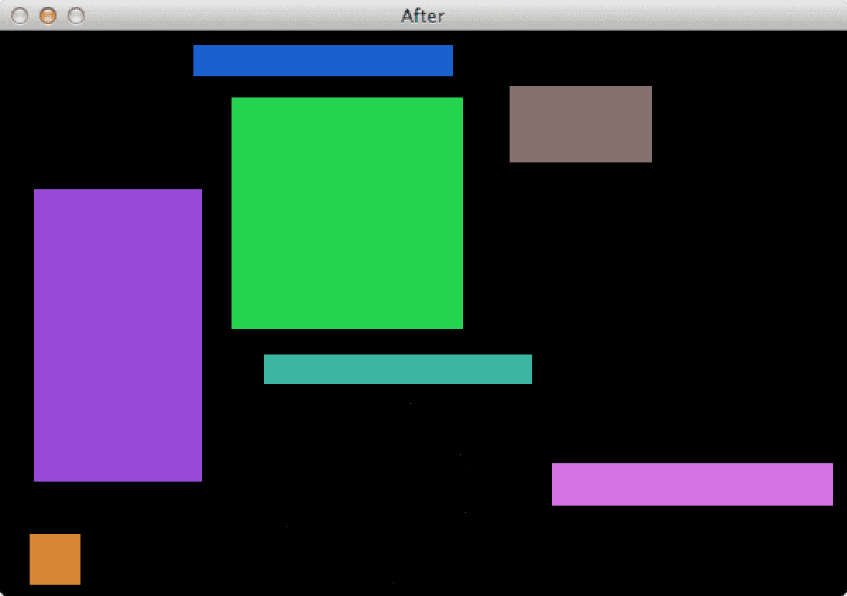 Figure 3: We have successfully removed the circles/ellipses while retaining the rectangles.