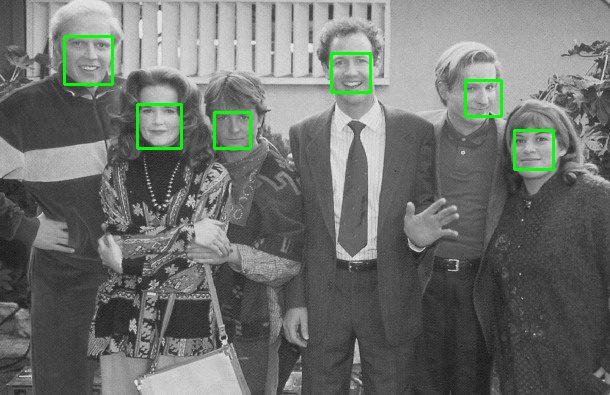 Inside PyImageSearch Gurus you'll learn how to train your own custom object detector to detect faces in images.
