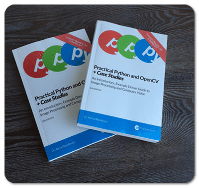 Figure 1: Hardcopy editions of Practical Python and OpenCV + Case Studies are now available!