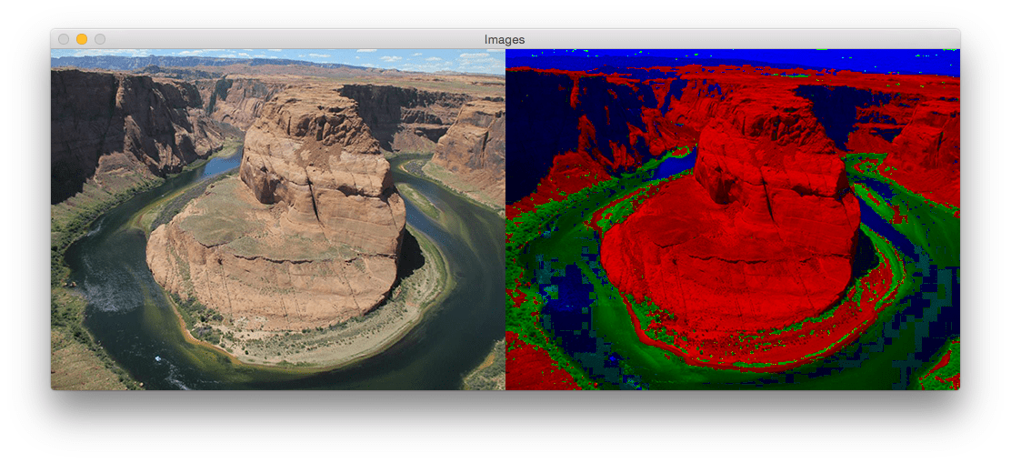 Figure 4: Another example of applying the Max RGB filter using Python and OpenCV.