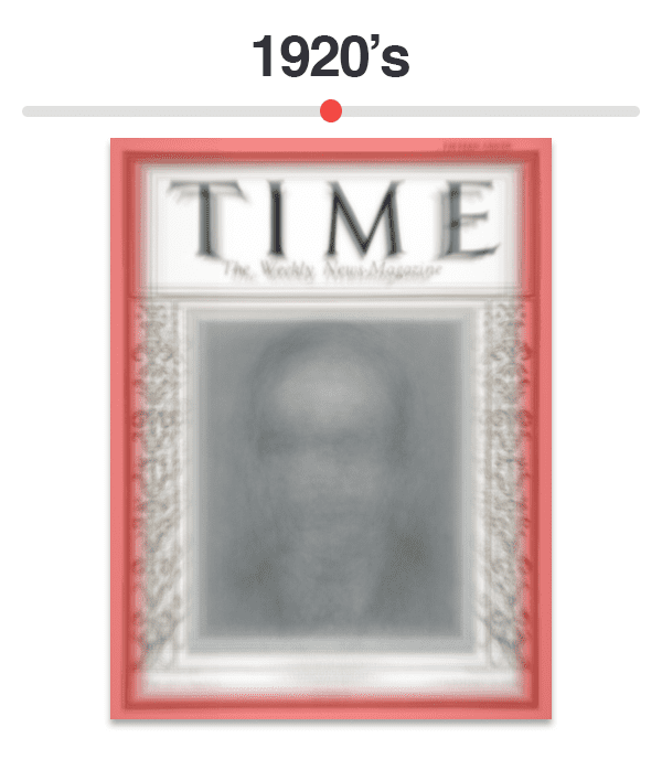 Figure 3: Average of Time magazine covers from 1920-1929