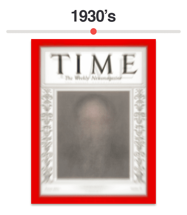 Figure 4: Average of Time magazine covers from 1930-1939
