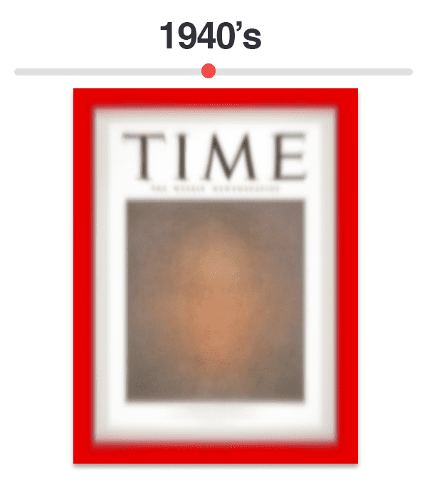 Figure 5: Average of Time magazine covers from 1940-1949