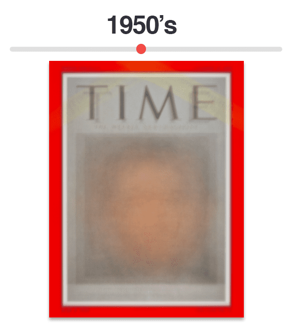 Figure 6: Average of Time magazine covers from 1950-1959.