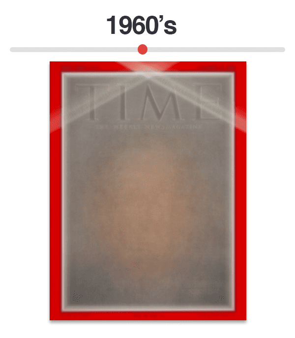 Figure 7: Average of Time magazine covers from 1960-1969.