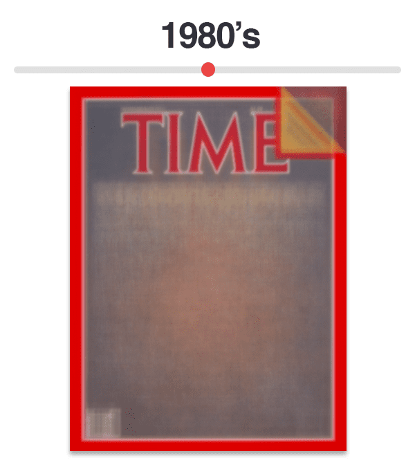 Figure 9: Average of Time magazine covers from 1980-1989.