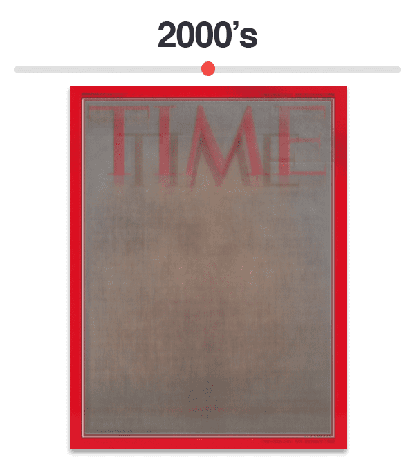 Figure 11: Average of Time magazine covers from 2000-2009.