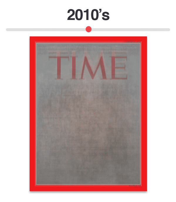 Figure 12: Average of Time magazine covers from 2010-Present.
