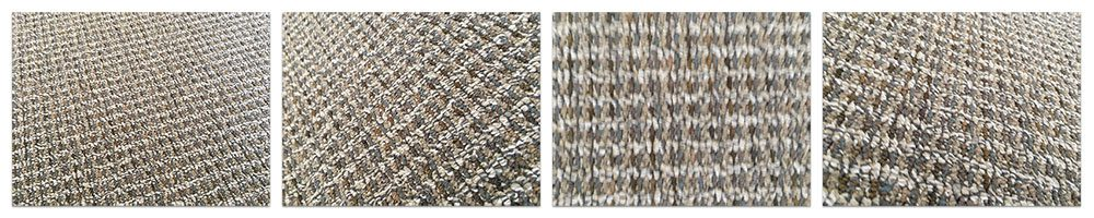 Figure 8: Four examples of the carpet texture.