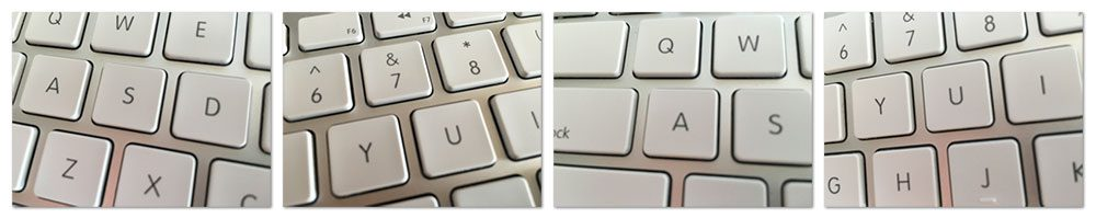 Figure 9: Example images of my keyboard.
