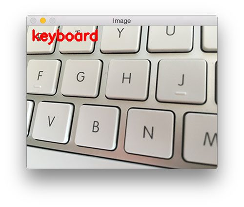 Figure 13: Classifying the keyboard pattern is also easy for our method.