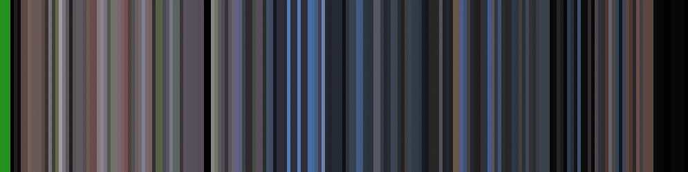 Figure 2: Generating a movie barcode for the Jurassic Park trailer.