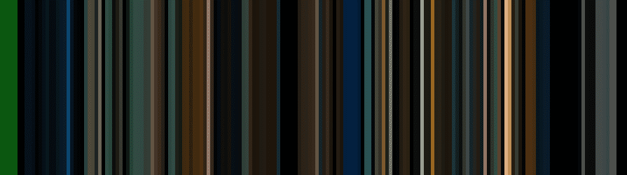 Figure 5: Building a movie barcode using computer vision and image processing techniques.