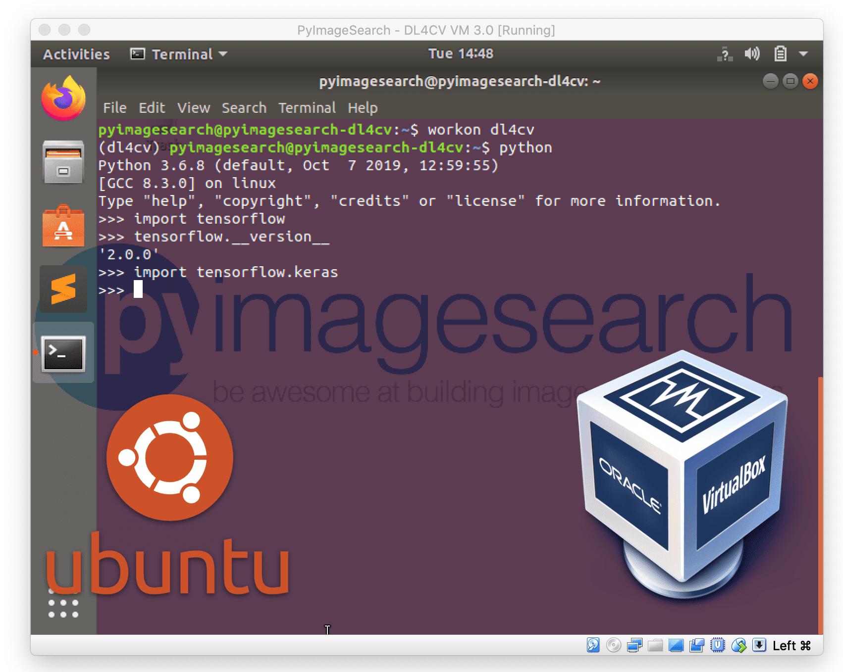 Your deep learning + Python Ubuntu virtual machine - PyImageSearch