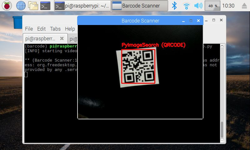An OpenCV barcode and QR code scanner with ZBar - PyImageSearch